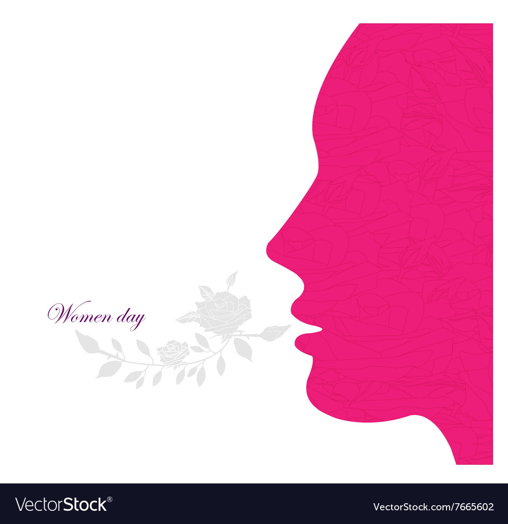 Women day backround vector