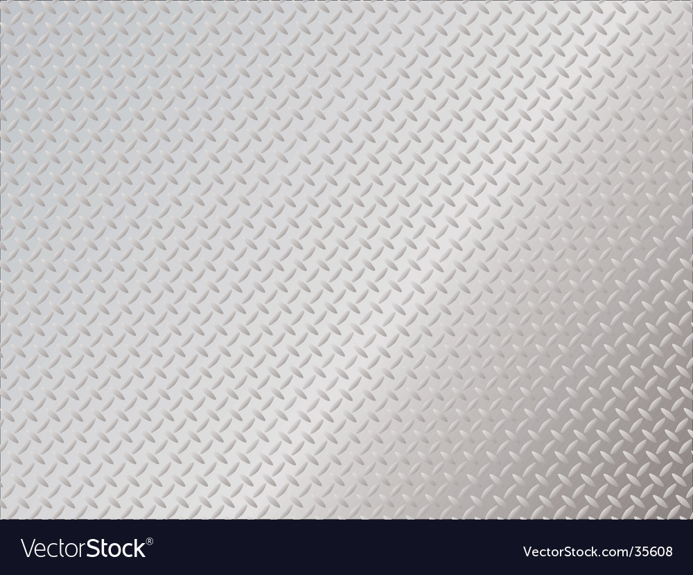 Metal anti slip spaced vector