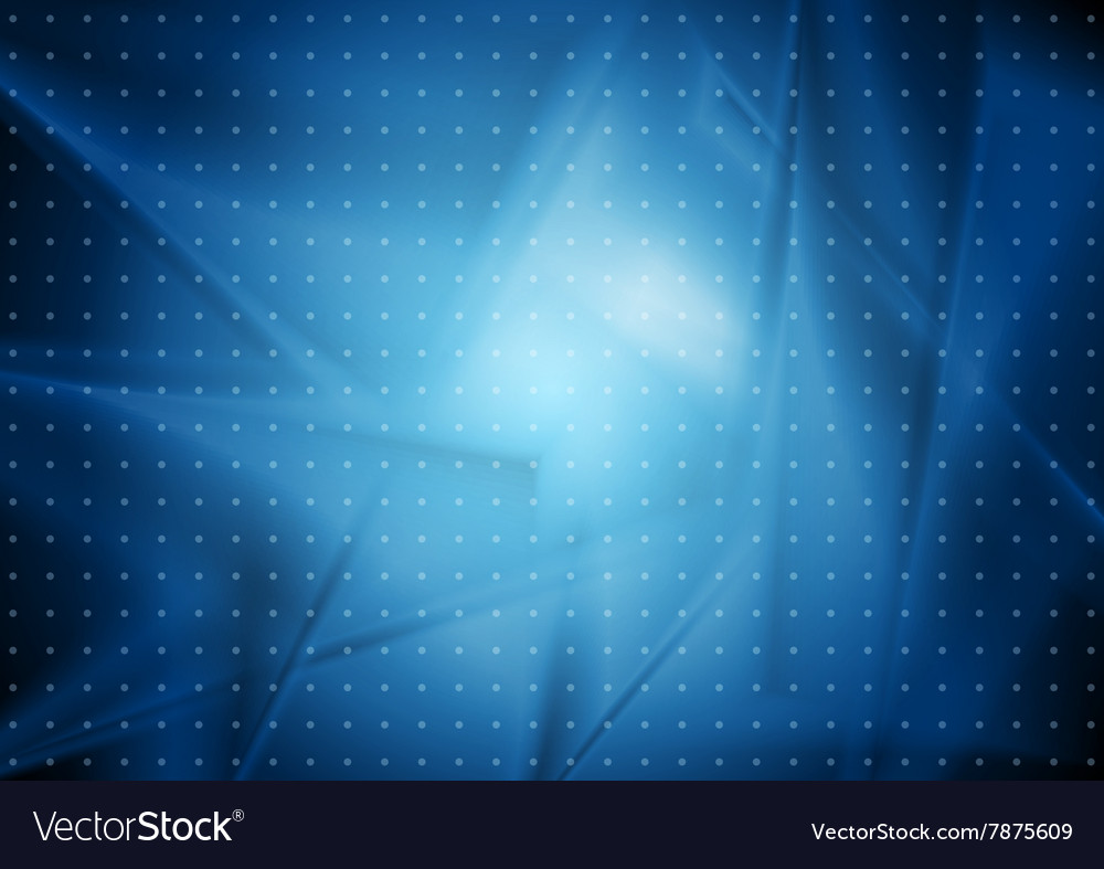 Blue abstract wavy dotted background vector