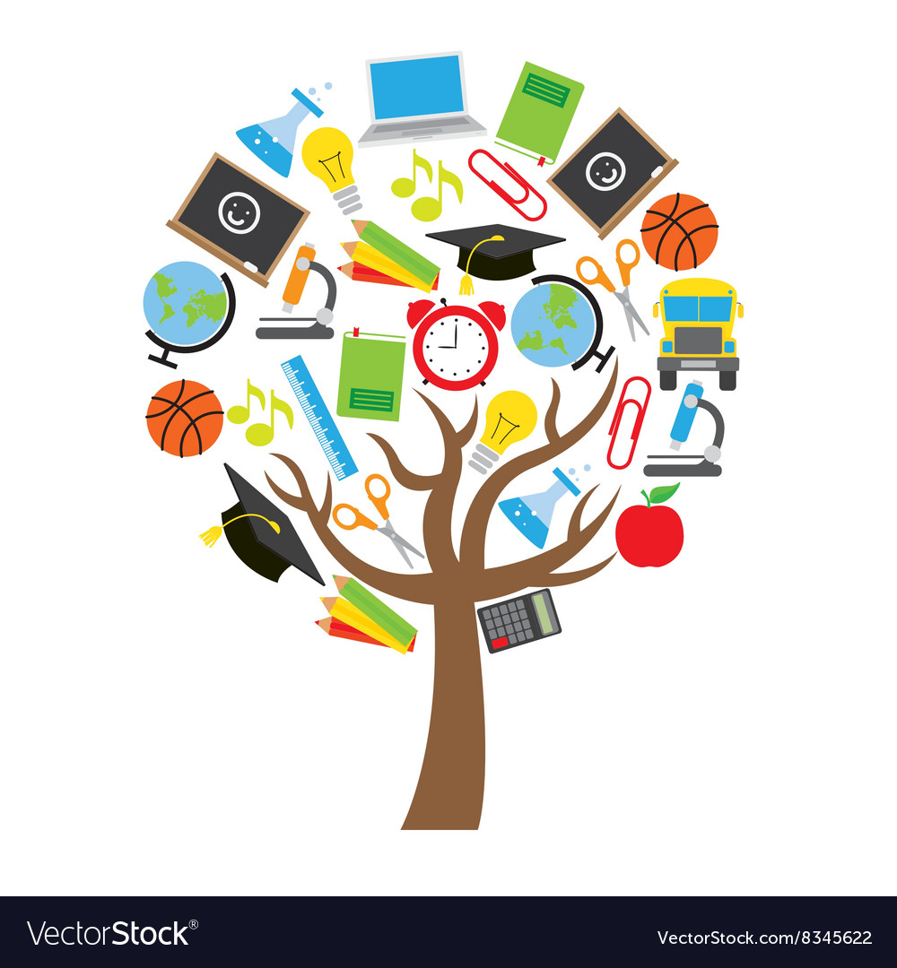 Education concept design vector