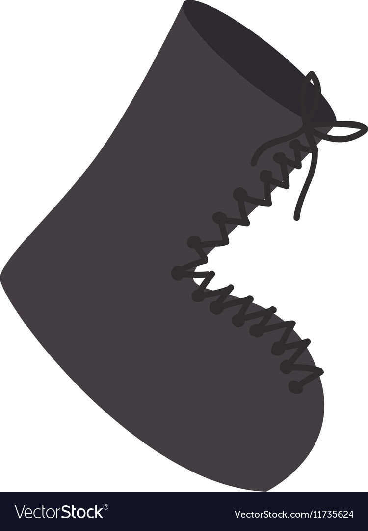 Boot shoe icon image vector
