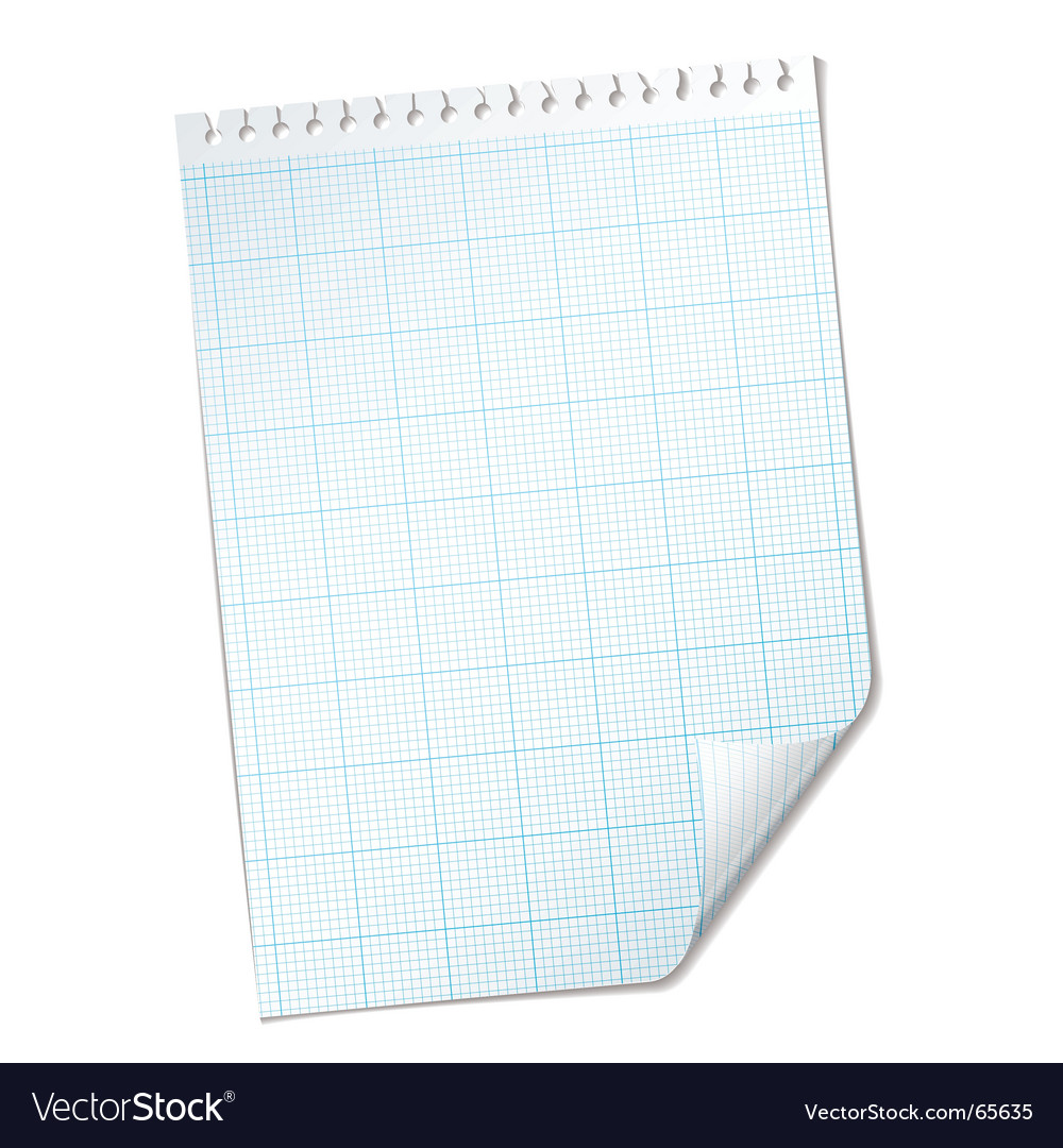 Ripped sheet grid vector