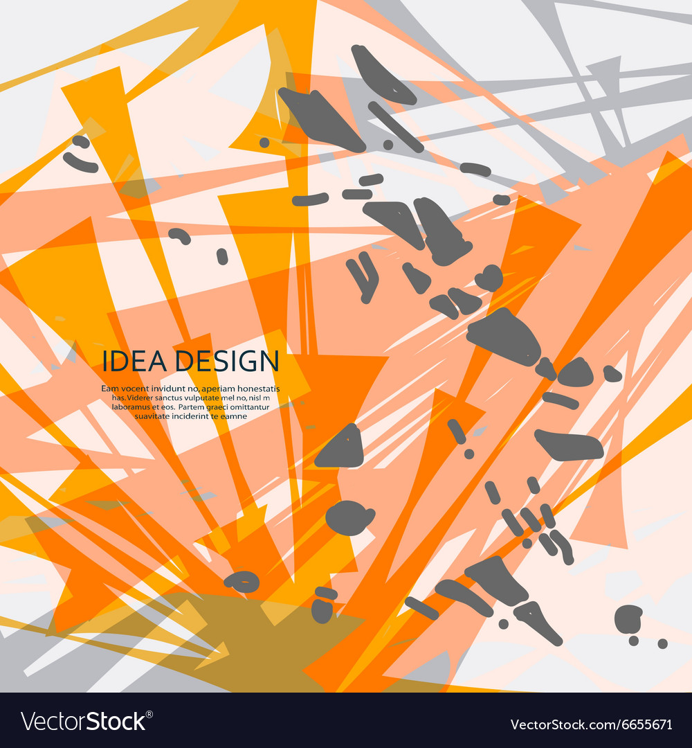 Abstract explosion dirty background for vector