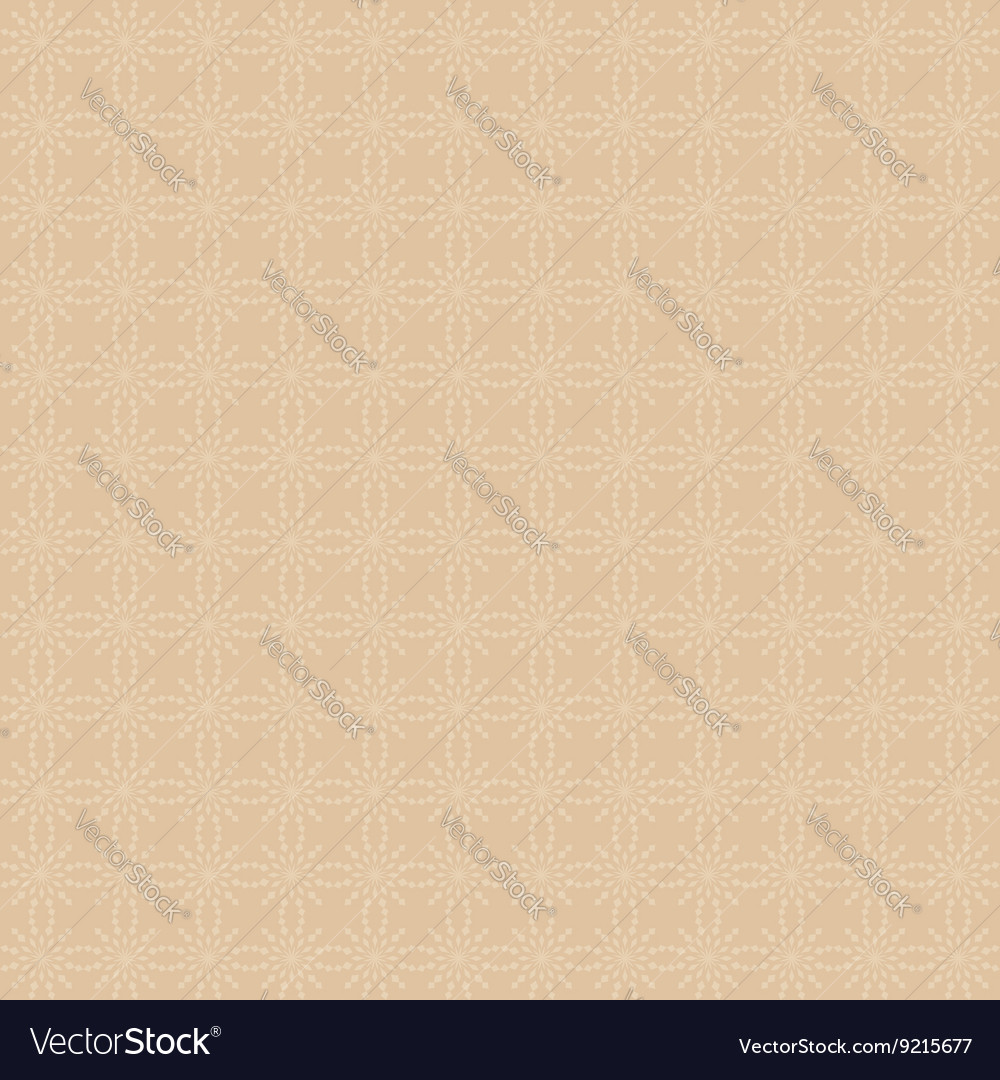 Light brown seamless geometric pattern background vector