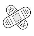 band-aid vector image