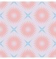geometric seamless pattern pastel palette vector image