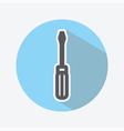 Screwdriver Color Icon vector image