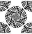 Design seamless monochrome background vector image