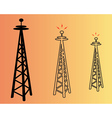 power poles vector image