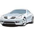 Sports car vector image