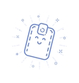 icon shopping concept with vector image
