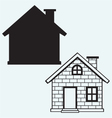Detailed house icon vector image vector image