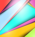 Material Design - Modern Background - Pattern vector image