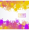 Colorful Drop Blot Background vector image