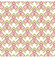 Merry Christmas seamless pattern pixel vector image