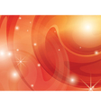 abstract bright orange background vector image