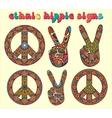 Hippie style-1 vector image