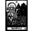 Empress Tarot Card vector image vector image