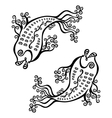 Decorative fish vector image