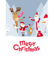 merry christmas hide and seek vector image