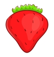 Strawberry icon cartoon style vector image