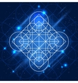 Magic Geometry Sign vector image