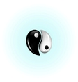 yin-yang vector image
