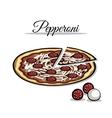 PizzaIngredient vector image