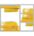 Art background business cards Stroke of the paint vector image