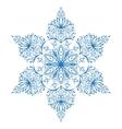 Kaleidoscopic round pattern vector image
