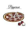 PizzaIngredient vector image