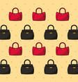 women fashion background vector image