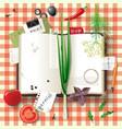 cookbook vector image vector image