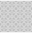 Black white seamless pattern Decorative ornament vector image