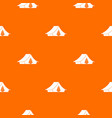 camping tent pattern seamless vector image