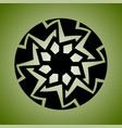 decorative and tribal ornament for design vector image