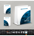 Abstract bag design corporate identity design for vector image vector image