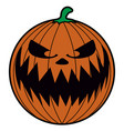 isolated halloween icon vector image