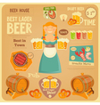 beer card vector image vector image