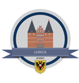 Lubeck vector image