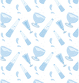 Pattern glass and water vector image vector image