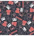Seamless pattern with skirts vector image