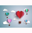 balloon heart vector image
