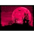 halloween zombie poster vector image