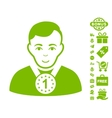 Champion Icon With Free Bonus vector image