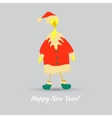 Cute Rooster Character vector image