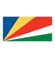 Seychelles flag vector image
