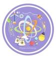 Physics energy vector image