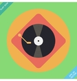 turntable player icon Flat design vector image