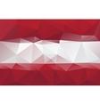 Latvian flag vector image